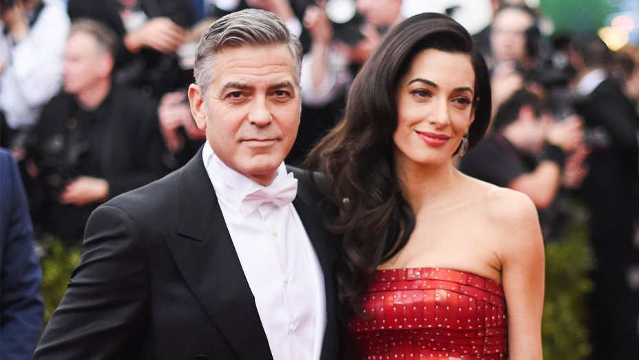 George Clooney lashes out at paparazzi pictures of his twin babies with wife, Amal