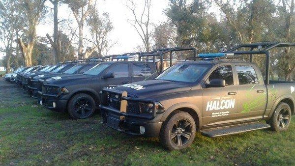 Ministerio de Seguridad sumó 40 pick ups con equipos de última generación