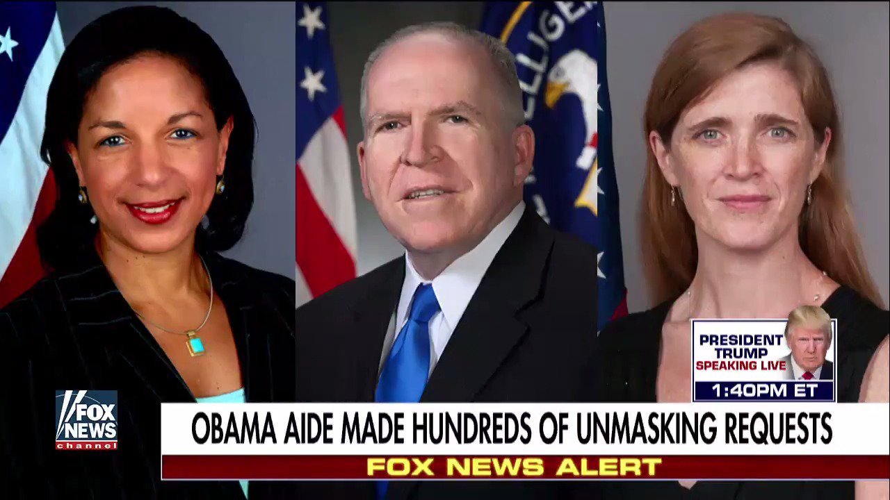 Obama aide made hundreds of unmasking requests; Catherine Herridge reports. https://t.co/iPYffpHT1O https://t.co/71fF4u3Bp8