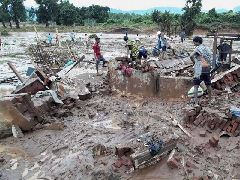 Flood fury 80 villages in Odisha's Balasore marooned, flood threat in 4 blocks