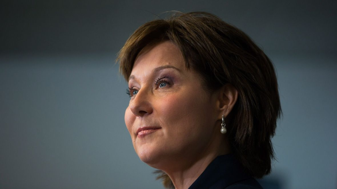 BREAKING NEWS @christyclarkbc announces resignation as leader of @bcliberals Party #bcpoli