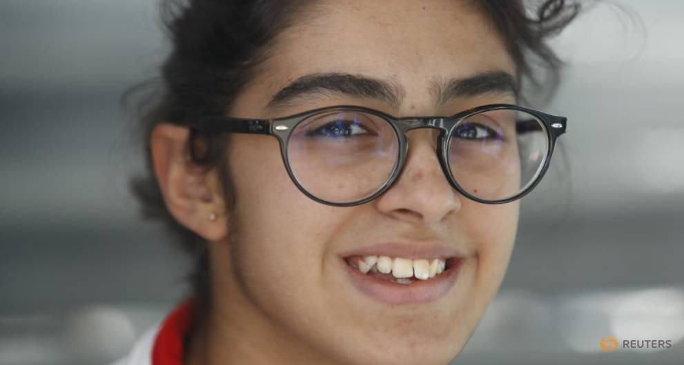 Bahrain's Amin, 13, enjoys 'mind-blowing' experience