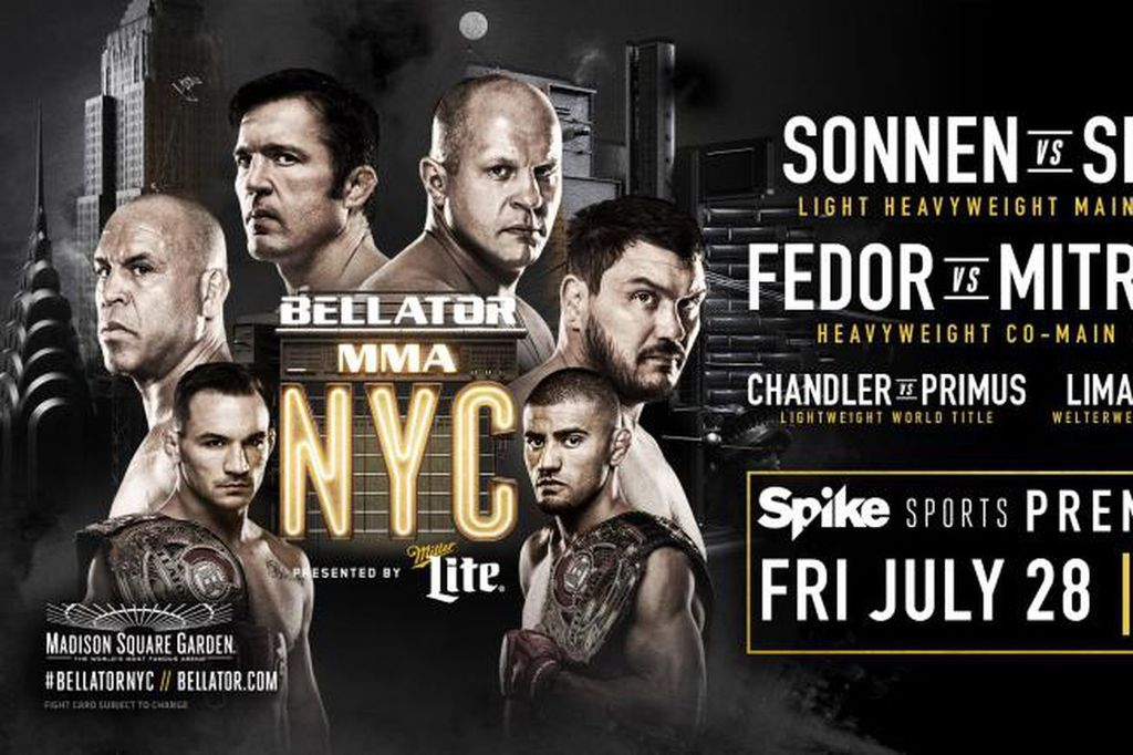 Bellator 180: 'NYC' replay to air free on Spike TV tonight https://t.co/wKxHAoSRfd https://t.co/5piZHlU6s1