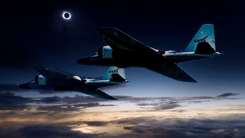 NASA-funded scientists to chase total solar eclipse in retrofitted jet planes