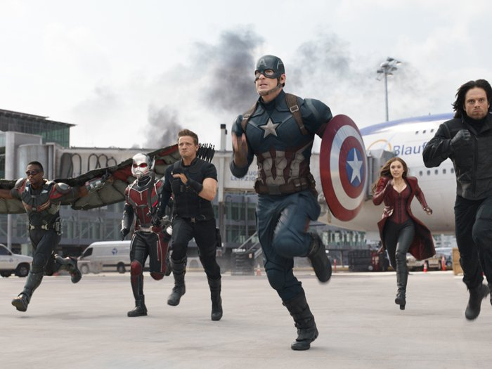 Which movie in the @Marvel Cinematic Universe is your favorite?