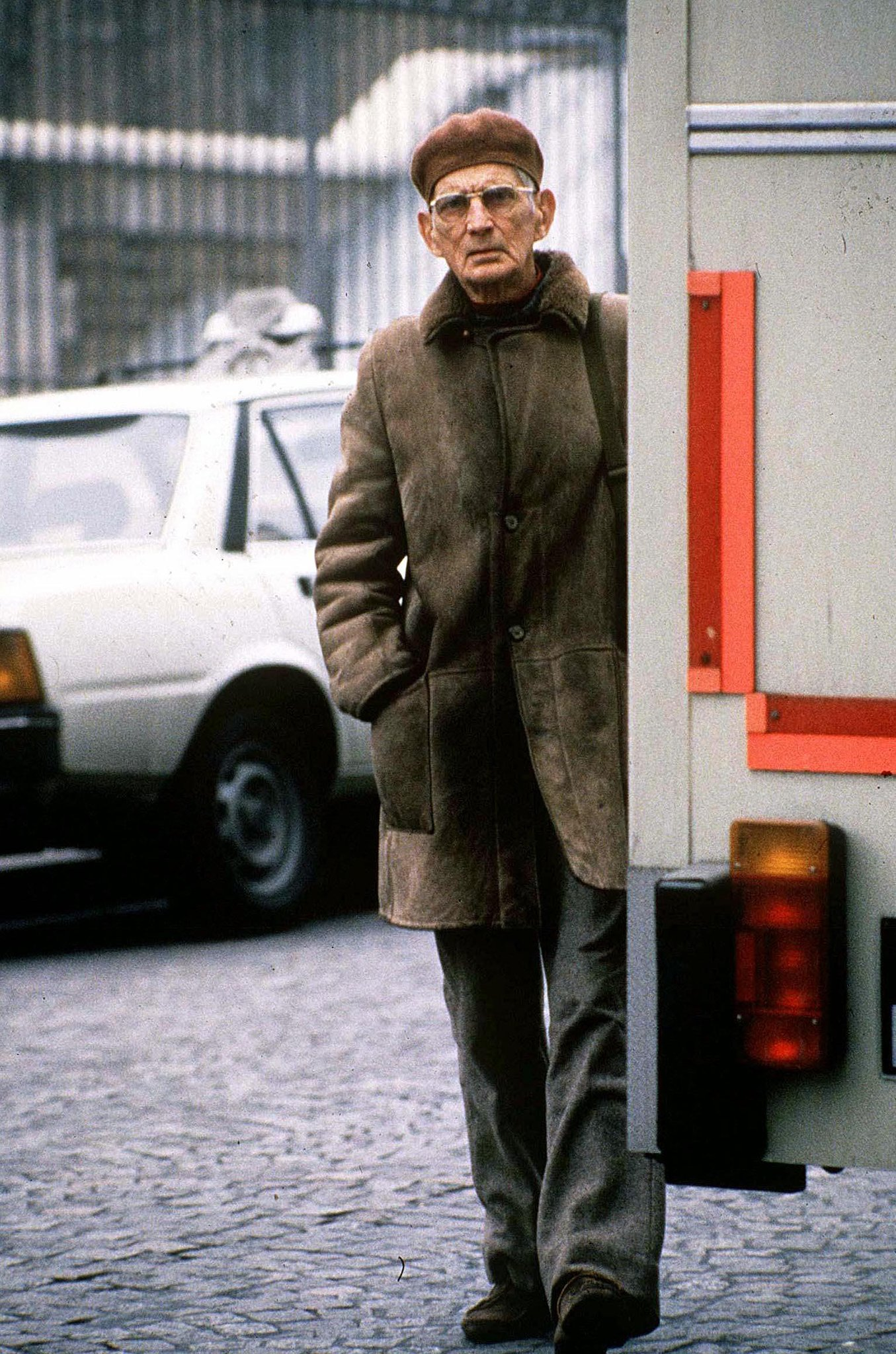 Samuel Beckett, Paris, France, April 1986. Photograph: Rex/Shutterstock. https://t.co/WVbyV9oeZl