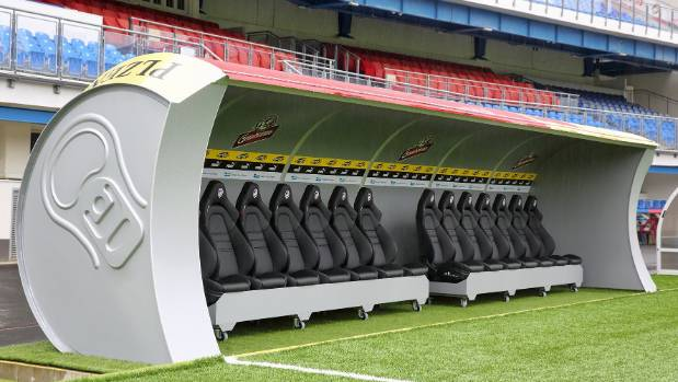 Czech football team shapes sideline shelters like beer cans