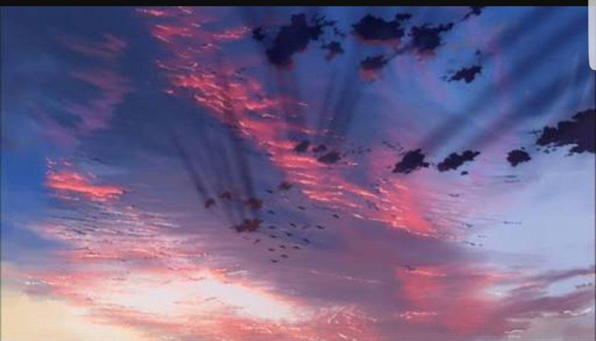 7/29 05:00ついでに『雲の向こう、約束の場所』もTVで遭遇。トンデモ成分少なめ、煽る挿入歌も無し。君名ちゃんと比
