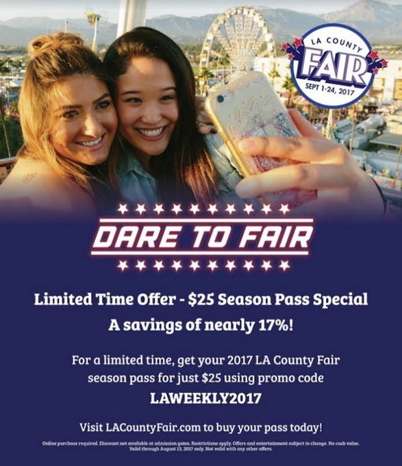 Win a pair of tickets to the LA County Fair!