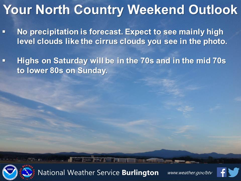 test Twitter Media - The weekend #weather is looking beautiful! Tweet us how you will be enjoying the outdoors. #vtwx #nywx https://t.co/aIqbS01qsY