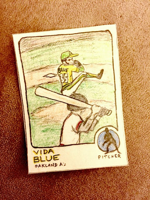 Wishing a very happy 68th birthday to former Cy Young, MVP, and 3x WS champ Vida Blue!