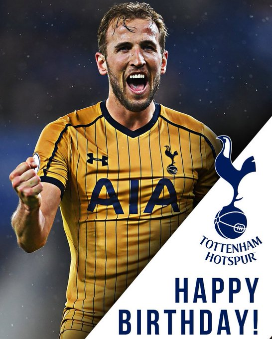 Happy birthday to one of the EPL\s greatest goalscorers, Harry Kane!