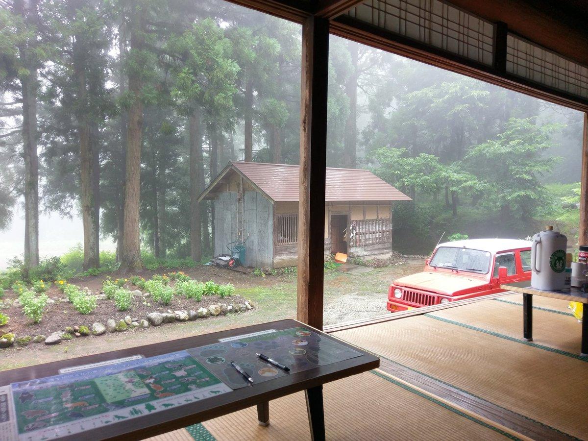 おおかみこどもの雨と雪の舞台へ。富山県上市町。