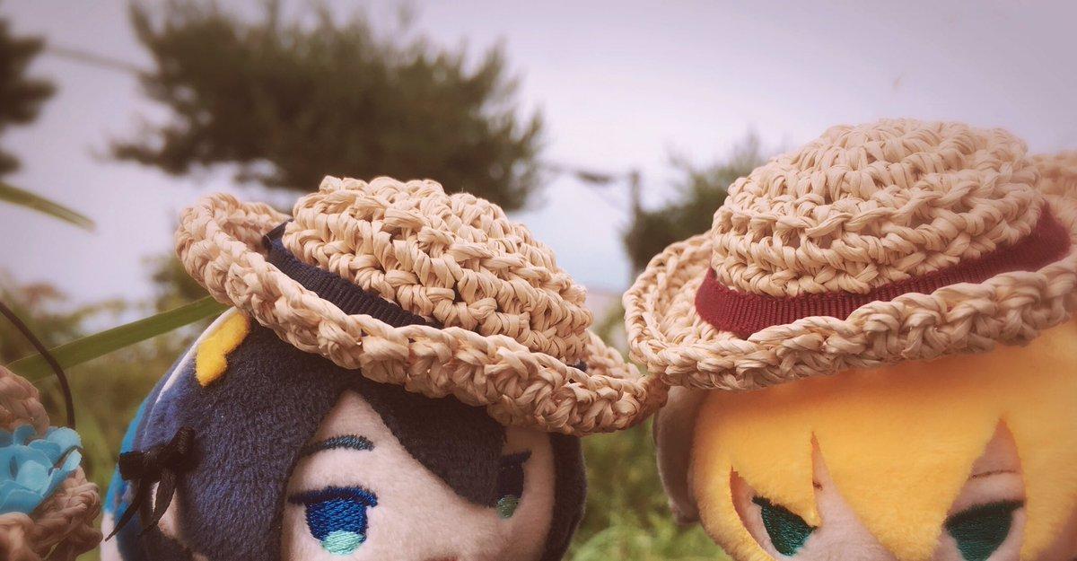 櫻子。さん( )のおぼうしとかごばっぐのセットが届いたよかわいいようわ〜〜ん!バッグにお花がつまってたよ…なに…かわい…