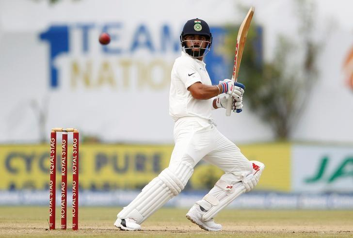 Cricket - India strike early after setting Sri Lanka 550 to win