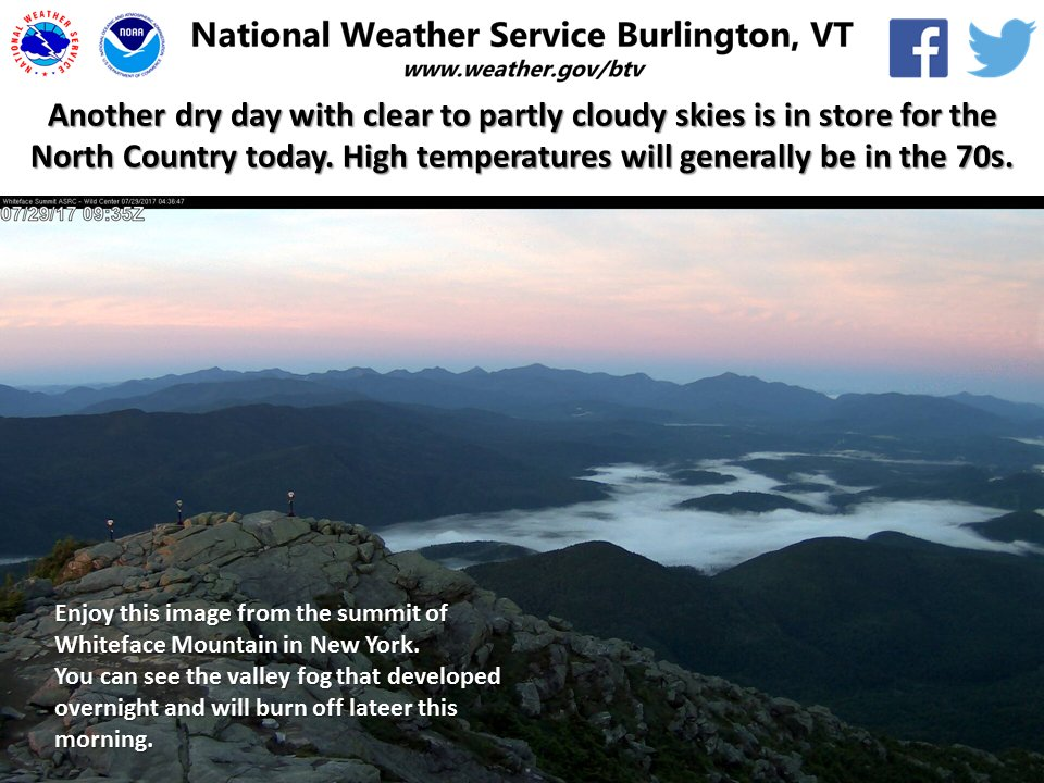 test Twitter Media - Dry, warm weather continues with clear to partly cloudy skies. Would you call this a beautiful day? #vtwx #nywx https://t.co/ggey76euer