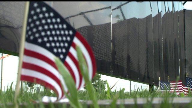 Vietnam Veterans Memorial Wall Stops in QuadCities