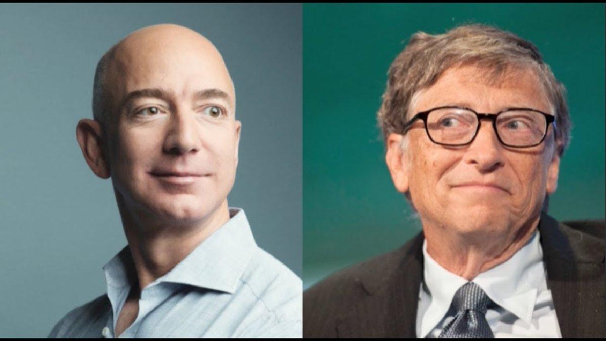 Amazon founder Jeff Bezos briefly dethrones tech billionaire Bill Gates