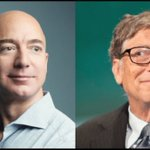 Amazon founder Jeff Bezos briefly dethrones tech billionaire Bill Gates