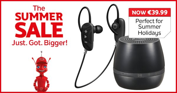 Jam on the brakes with these perfect for Summer offers! #SummerSale https://t.co/x8iFOTrB4t https://t.co/jFxiOVO2LJ