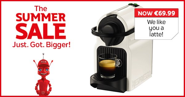 Wakey wakey! Don't miss out on our incredible coffee maker deals in store & online! https://t.co/k5k4dZRwAB https://t.co/Pr2R2J0MMF