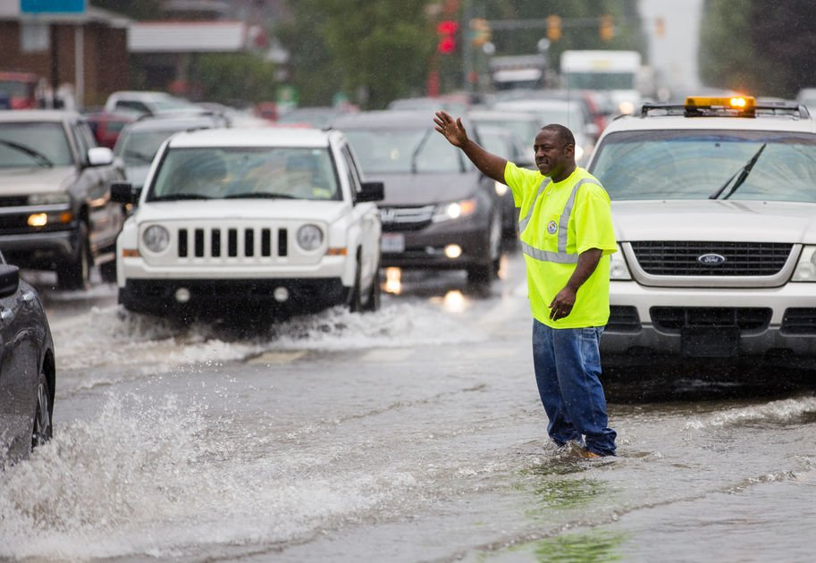 Deluge of rain brings flooding in Cabell County