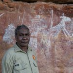 Aboriginal rangers discover rock art sites while conducting burn-offs in Arnhem Land
