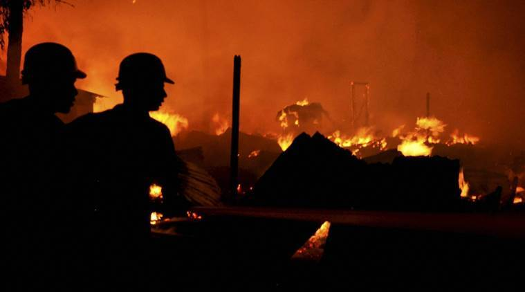 Over 22,000 evacuated as fire hits Spain musicfestival