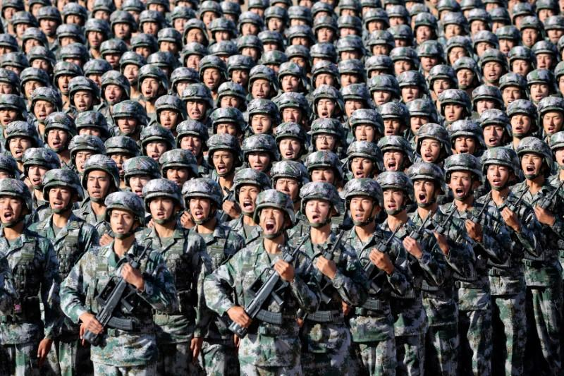 China's Xi calls for building elite forces during massive military parade
