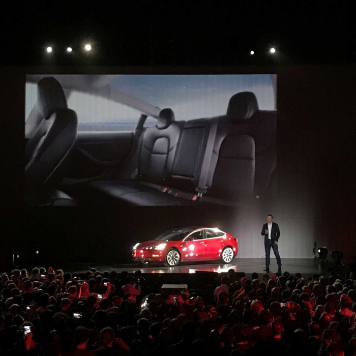 Elon Musk admits delivering cheaper Tesla electric car Model 3 will be 'challenge'