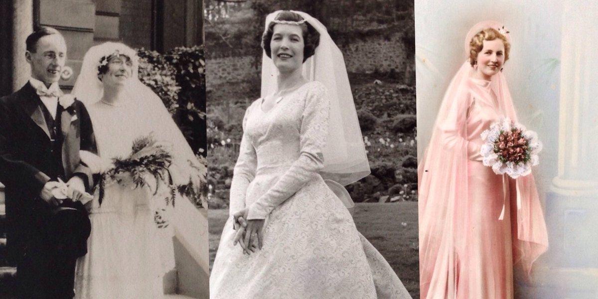 B H Heritageopendays On Twitter Explore Vintage Wedding Dresses 1950s