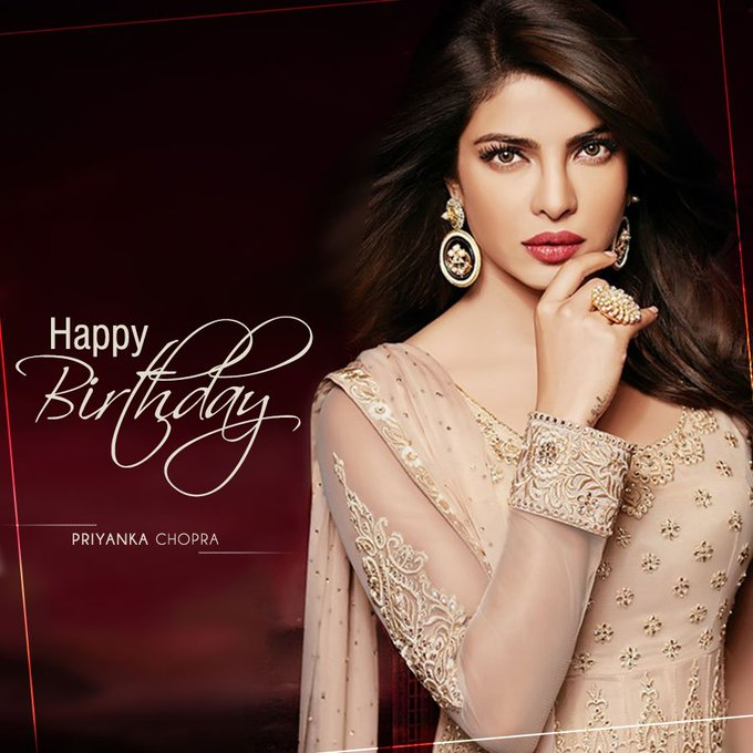 Happy Birthday Priyanka Chopra!!! Leave your birthday wishes Below !!