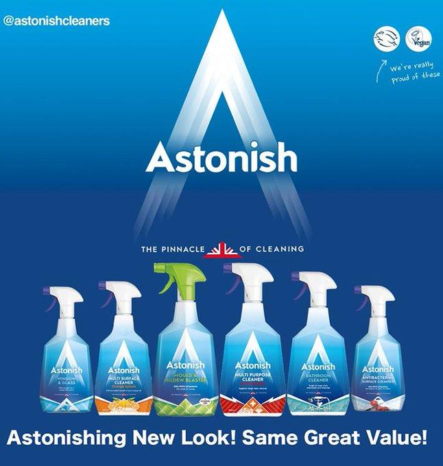 Win the New Look Astonish Range