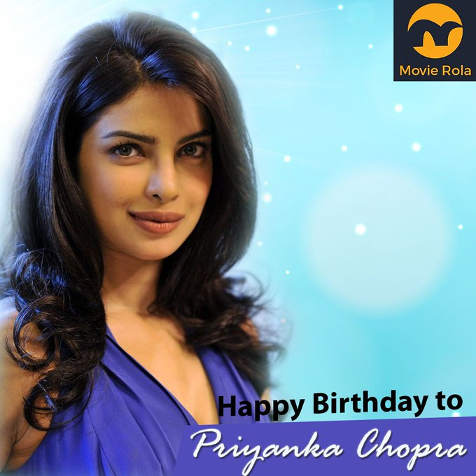 Happy Birthday to Priyanka Chopra.