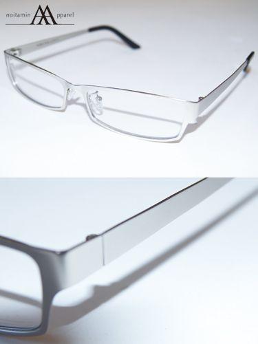 ノイタミナアパレル【PSYCHO-PASS サイコパス】宜野座 伸元メガネ宜野座のメガネをステンレスメタルフレームで再現
