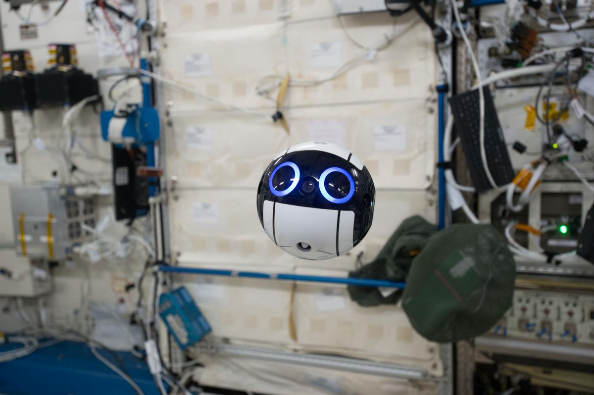 This Japanese drone may be the cutest thing ever sent into space