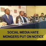 Social media hate mongers put on notice