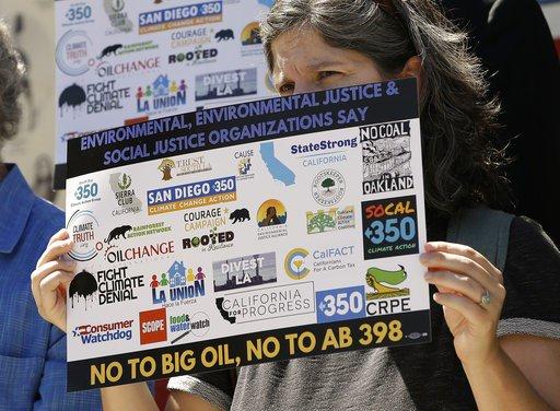California lawmakers extend landmark climate change law