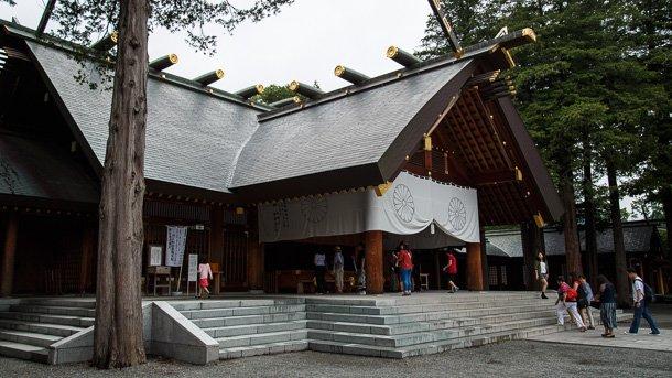 北海道神宮で「WWW.WORKING!!」聖地巡礼 (2/5)