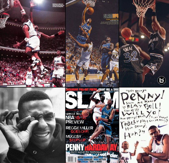 "Happy Birthday Anfernee ""Penny\"" Hardaway your favorite player s favorite player!  TRIBUTE:"