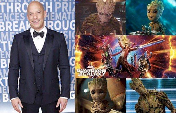 Hoy cumple 50 años Vin Diesel (Groot / Baby Groot en Happy Birthday