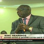 Akaranga accused of breaching election code of conduct