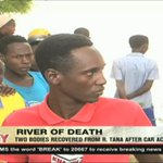 Two bodies recovered from River Tana after car accident
