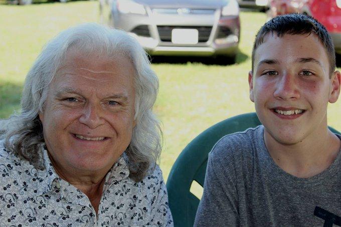 Happy Birthday to my buddy Ricky Skaggs!
