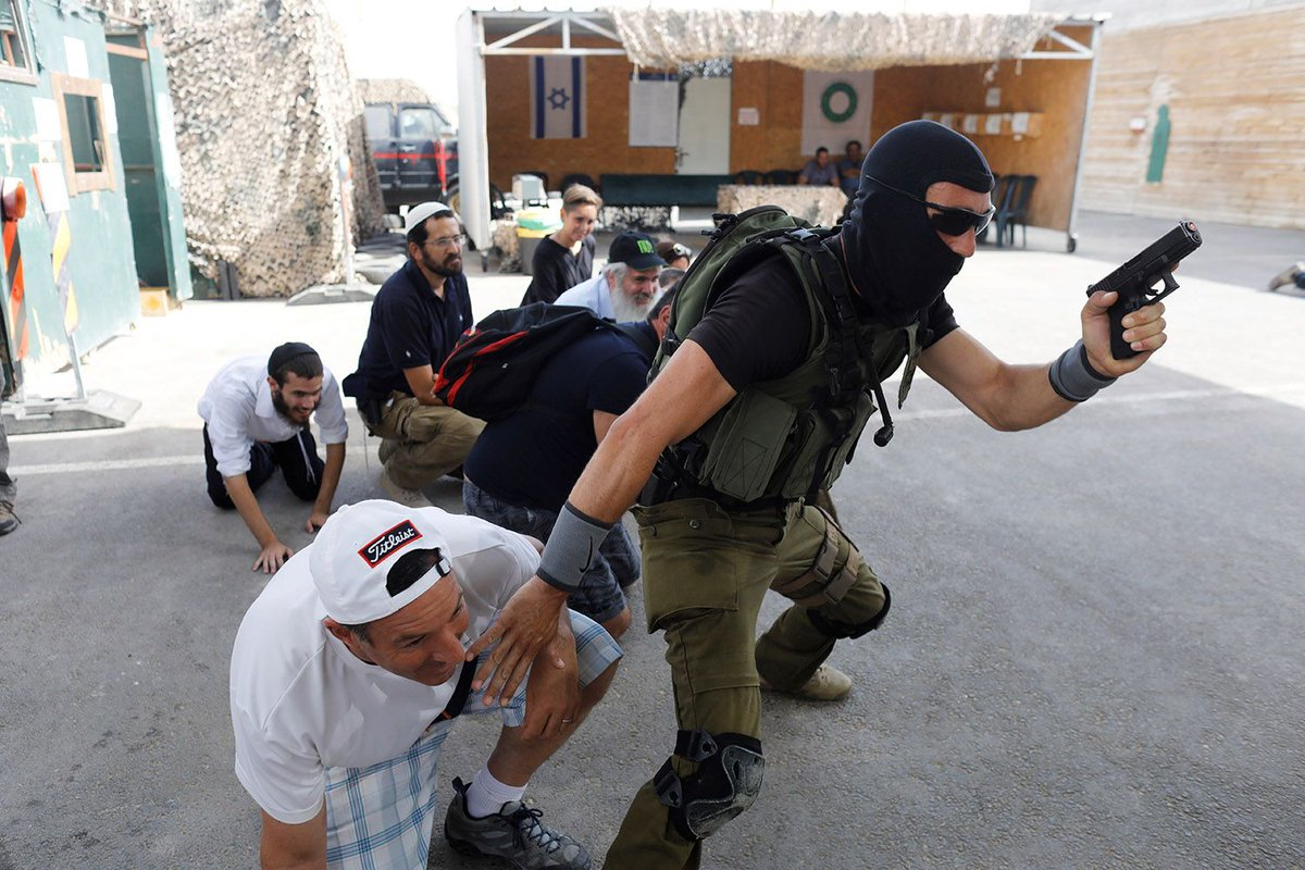 Tourists train at Israeli 'counter-terrorism boot camp'