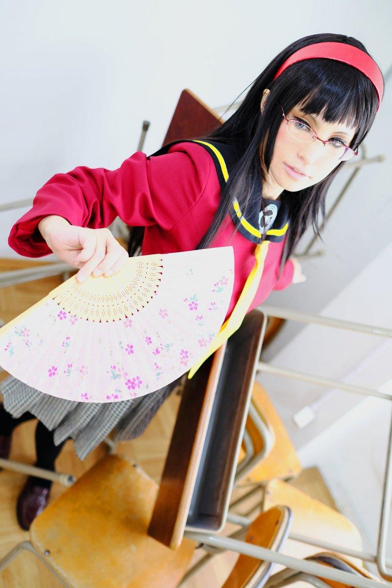 【コス】ペルソナ4 天城雪子           「難攻不落の黒雪姫」Photo・たこさん()studio・