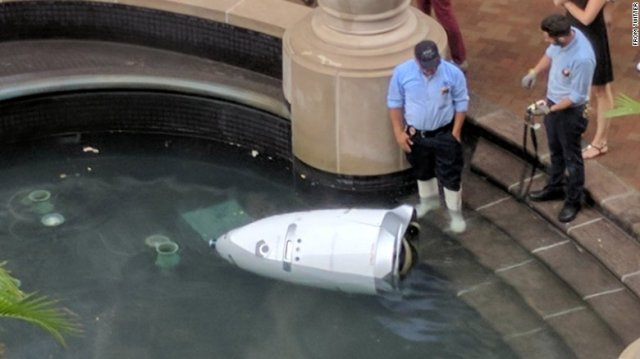 Security Robot Meets Untimely Demise After Drowning on theJob