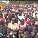 Opposition campaigns in kibra,Kakamega , Bungoma