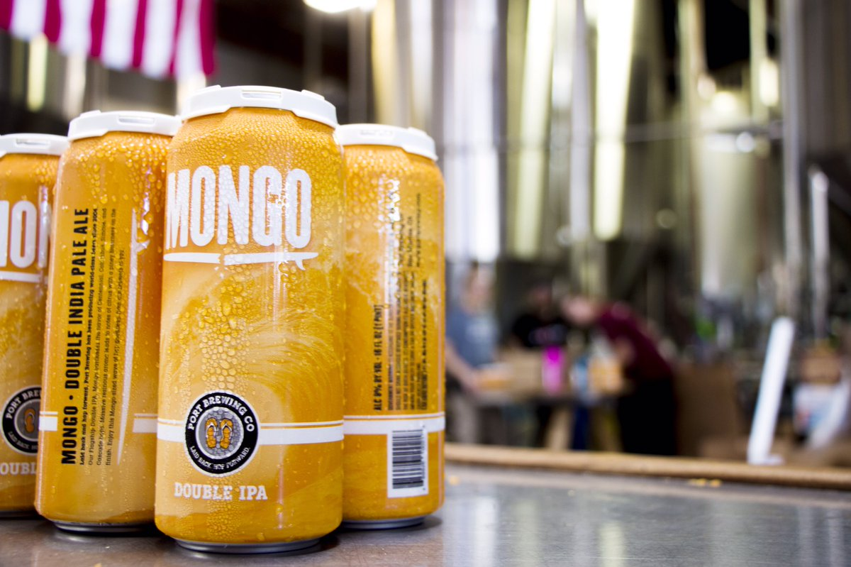 test Twitter Media - Mongo Mon... wait... Mongo Tuesday is here! Fresh cans are now available in the tasting rooms and very soon in limited distribution. https://t.co/aLD4cyz8t2
