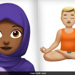 Woman In Hijab, Man Doing Yoga. New Emojis Have The Internet All Fired Up